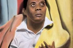 James Baldwin by Cesar Rodriguez