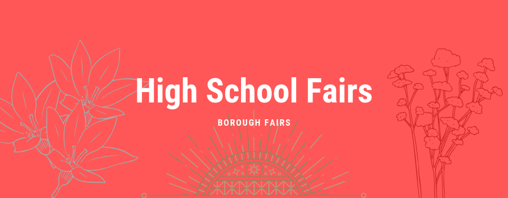 High School Fair, September & October 2019